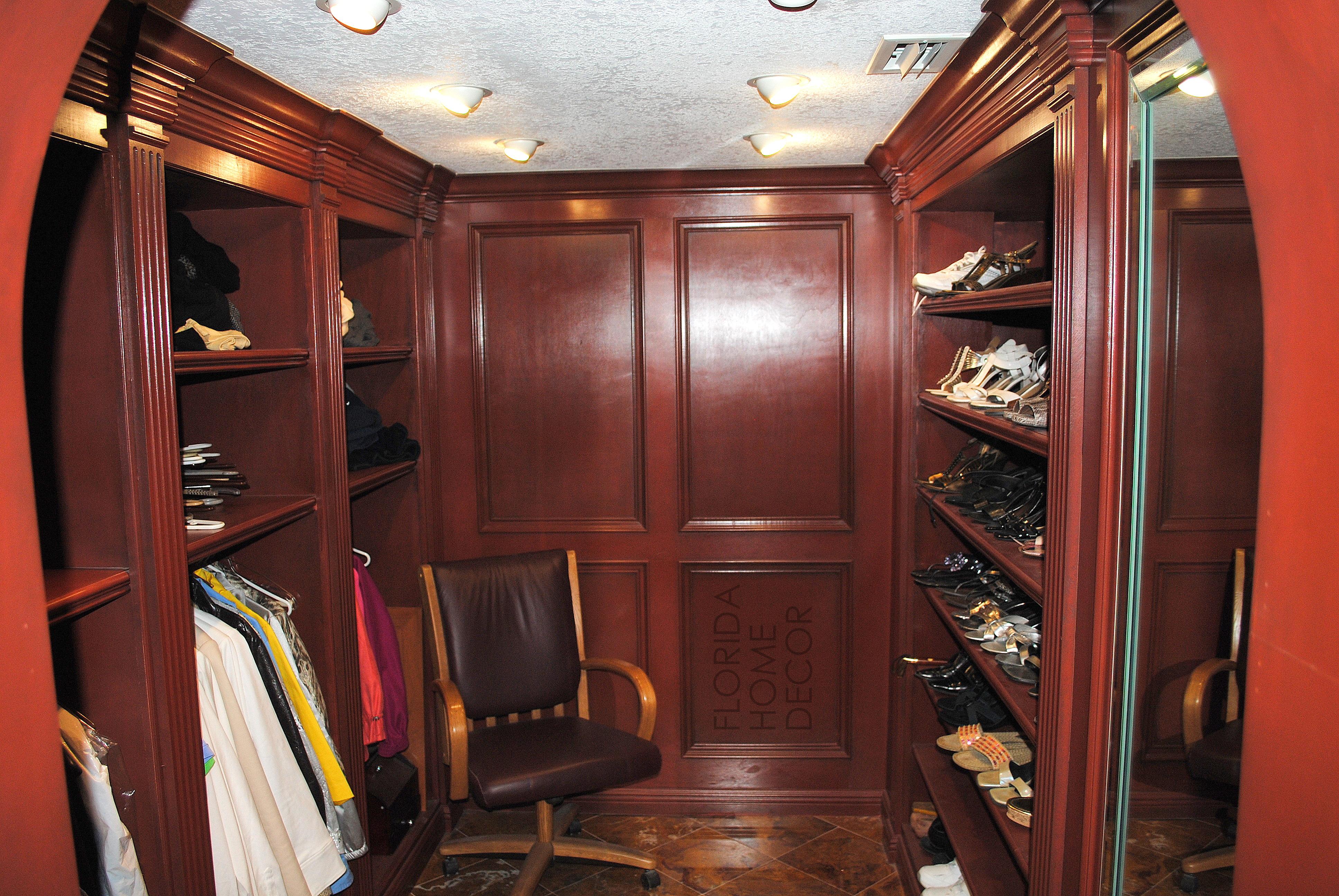 Custom Closets Florida Home Decor